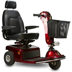 Shoprider Sunrunner 3 Mid-Size 3-Wheel Scooter - 300Lbs